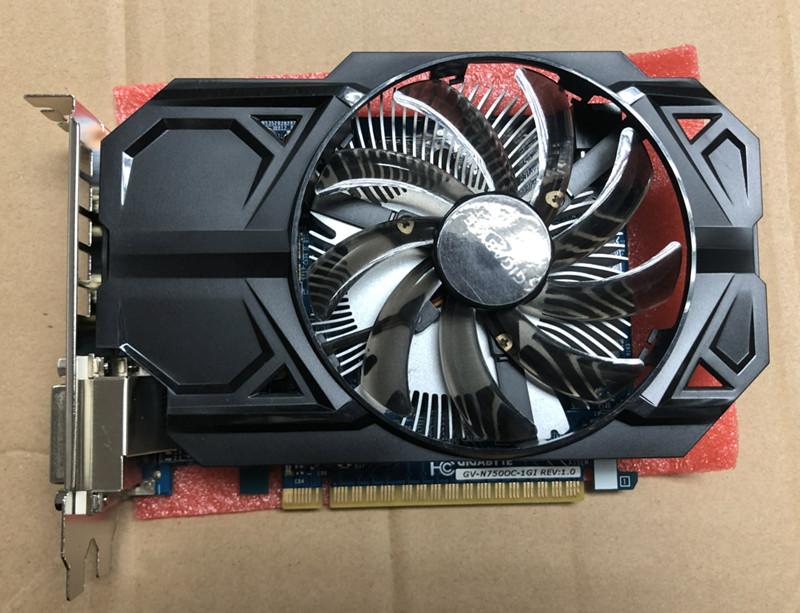 Video-Cards Used Nvidia DDR5 GTX750 Geforce Hdmi 128bit 1GB Dvi On-Sale GV-N750OC-1G