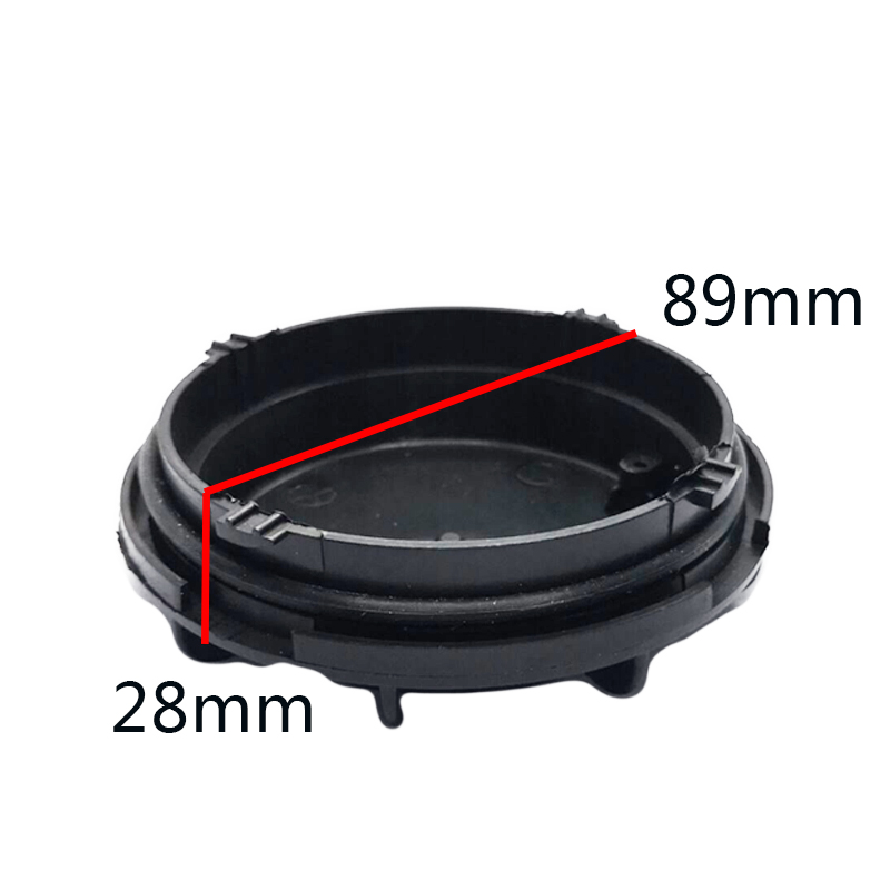 Image 2 - 1 piece led hid Dust caps pvc hard materail  Extended rear cover for Elantra Low light Bulb overhaul caps-in Car Light Accessories from Automobiles & Motorcycles