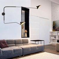 Nordic Style Rotary Long Pole Wall Lamp Loft Wall Light Night Lamp Home Living Room Decoration Bar Restaurant Indoor Lighting