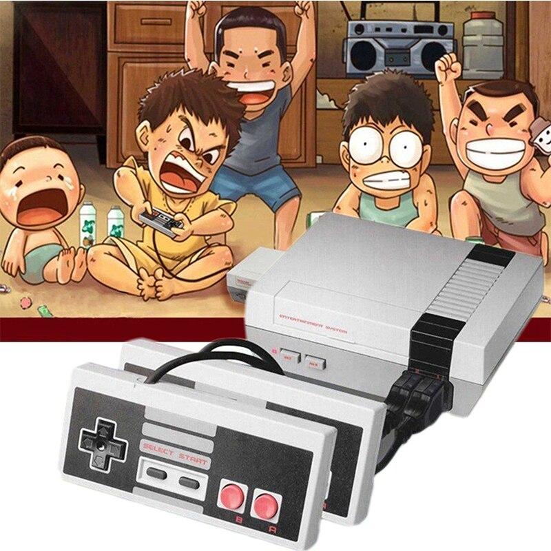 Oivo обновления Мини Ретро игровая консоль встроенный 620 игры 8 бит PAL и NTSC Семья ТВ Ручные игры двойной Игровые
