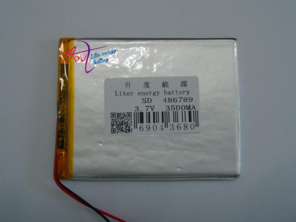Digital Batterien Intelligent 7-zoll Tablet Eingebaute Wiederaufladbare Polymer Batterie 506590 486789 P 3500 Mah Pdas Anwendbar Verschiffen Unterhaltungselektronik