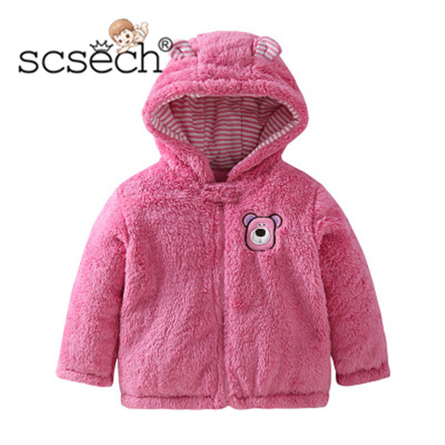 8bf0a661e New Brand Baby Jacket Autumn Winter Warm Clothes Long Sleeve Cute ...