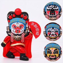 The Sichuan opera face changes doll toy Beijing three sides change model desktop decoration special crafts