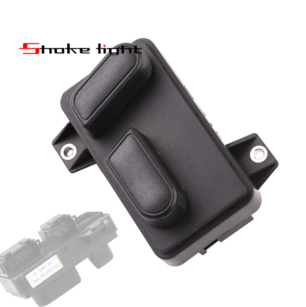 4B0959766 Front Right Electric Seat Adjust Switch Control Fit A6 S6 C5 1998 2005 A6 Allroad Quattro 2000 2005 4B0 959 766 01C