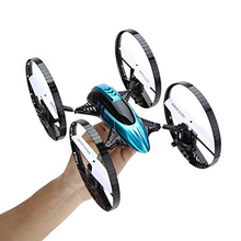 rc drone H3-2 4CH 6-axis 2.4GHz RC Quadcopter Car-copter with Gravity Sensor with HD Camera RTF remote control toy for best gift