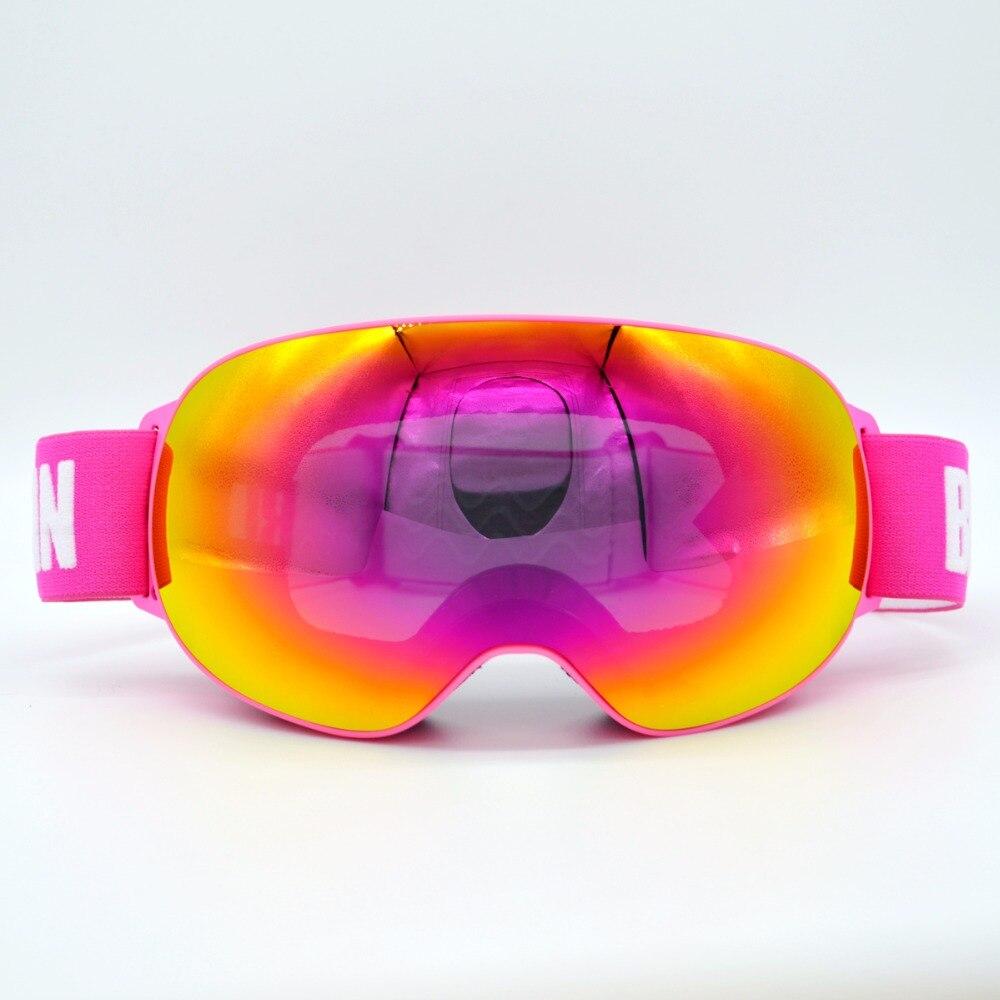 Nouveautés Professionnel Polarisées Homme Femmes Masque de Ski Double Lentille Ski Lunettes UV-protéger Sports de Neige Lunettes de Ski Lunettes - 3