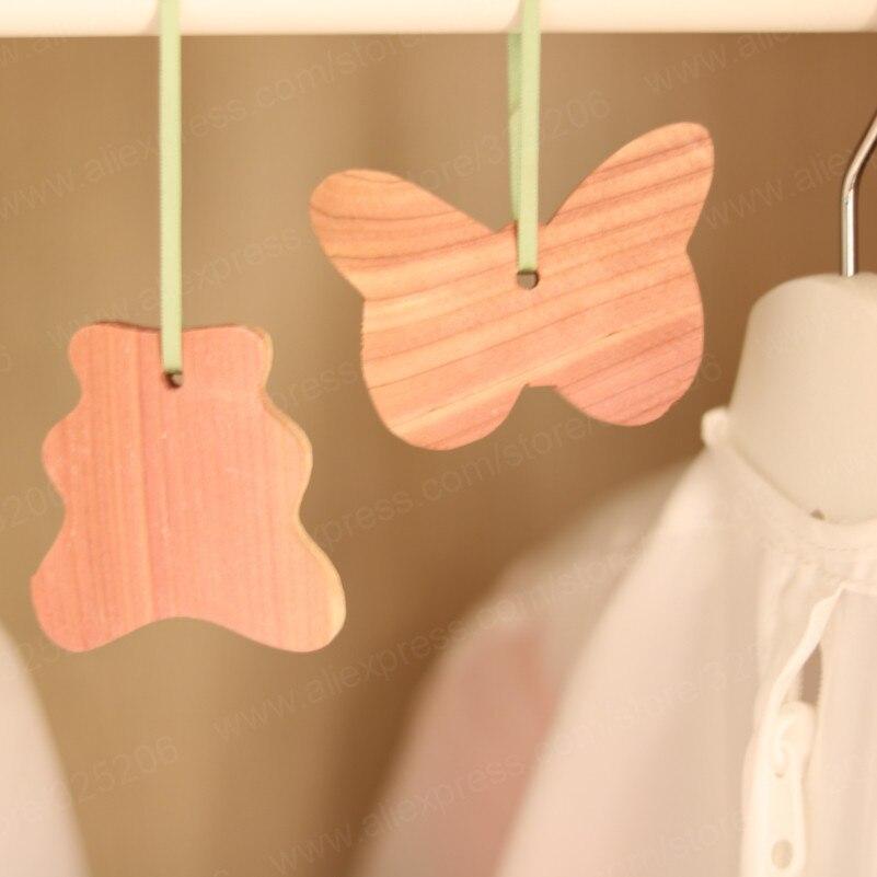 150sets Cedar Moth Repellent Fresh Clothes Protector For Closet Wardrobes