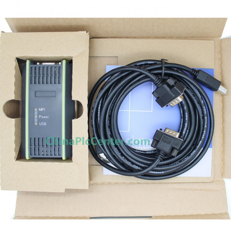 USB/MPI PC Adapter USB S7-200/300/400 PLC,MPI/DP/PPI Programming Cable Profibus Win7 64bit