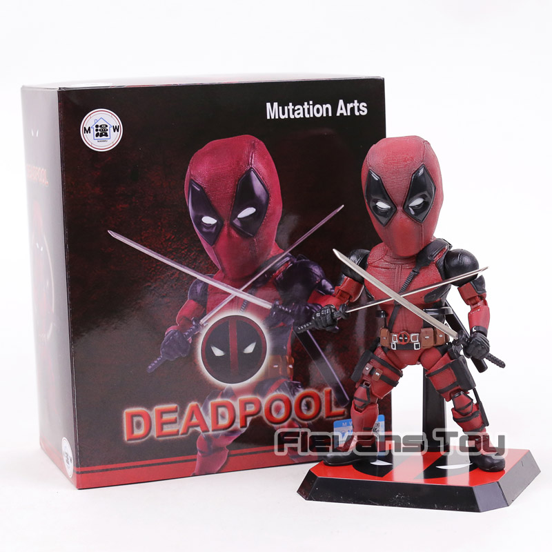Genuine Mutation Arts Marvel Deadpool 2 PVC Statue Action Figure Collectible Model Toy marvel action figures marvel universe blam deadpool figure toys deadpool breaking the fourth wall statue figurine 20cm