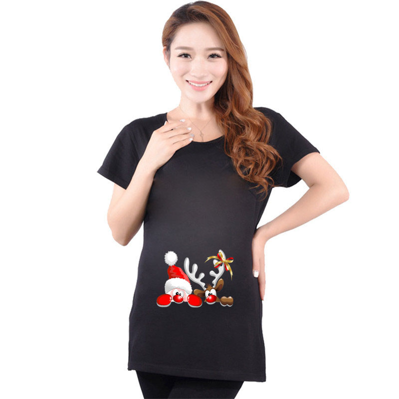 Aliexpress.com : Buy Cotton Santa Claus Maternity Pregnant ...
