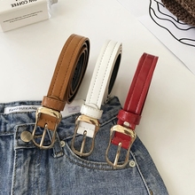 Kendall Coachella ремни для женщин тонкая металлическая пряжка на ремень ремни из кожзаменителя дизайнерские винтажные ремни в стиле вестерн джинсы
