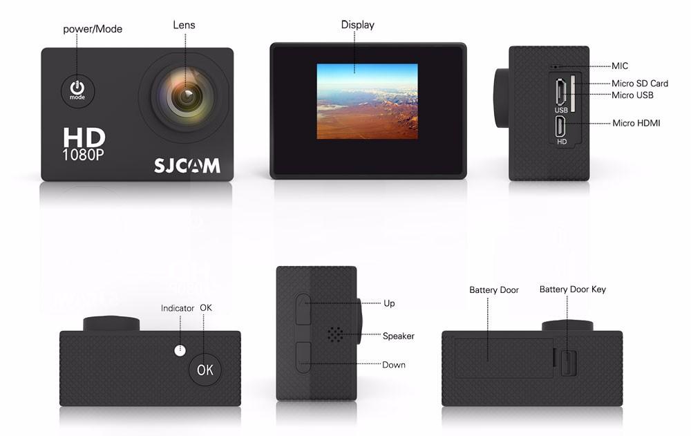 original sjcam sj4000 1080p hd action camera 9