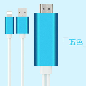 Image 5 - Adapter for Apple to HDMI HD Cable 1080P HD for iPad on for iPhone 5 5S 6 6s 7 Plus Phone Connected to TV Support IOS11 system