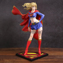 DC Comics Bishoujo Patung Supergirl Kembali PVC Sosok Collectible Model Mainan(China)