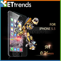 Tempered Glass Screen Protector Anti-Shock Glass Protective Film 9H 0.26MM 2.5RD  For iPhone 6 Plus 6S Plus with Package