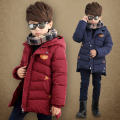 2017 winter child clothes boys wadded jacket  outerwear clothing cotton-padded jacket thickening baby zipper warm outwear