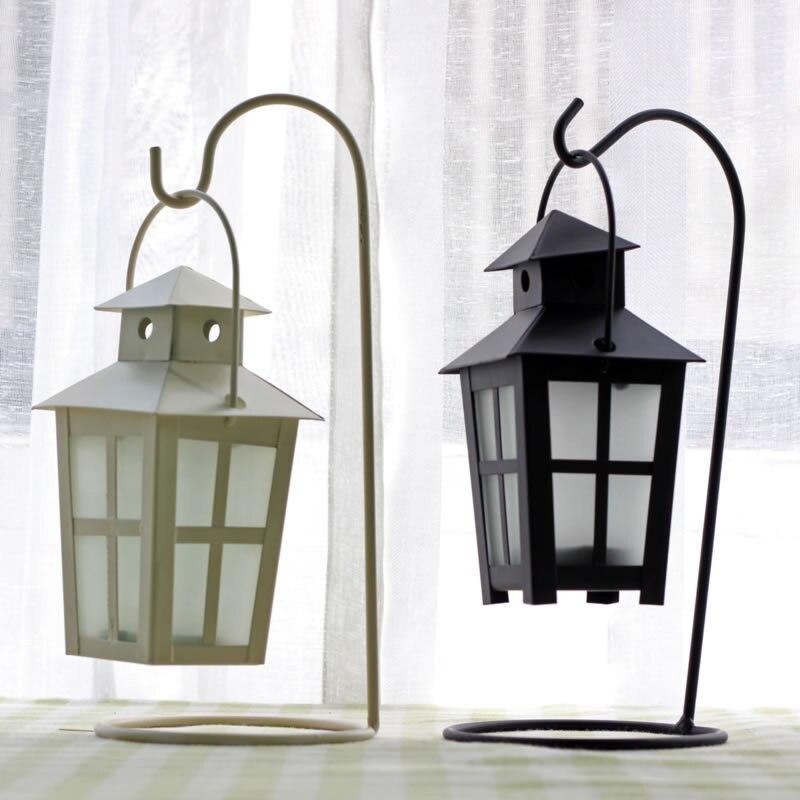 Aibei Morocco Style Creative Wrought Iron Palace Lantern Candle