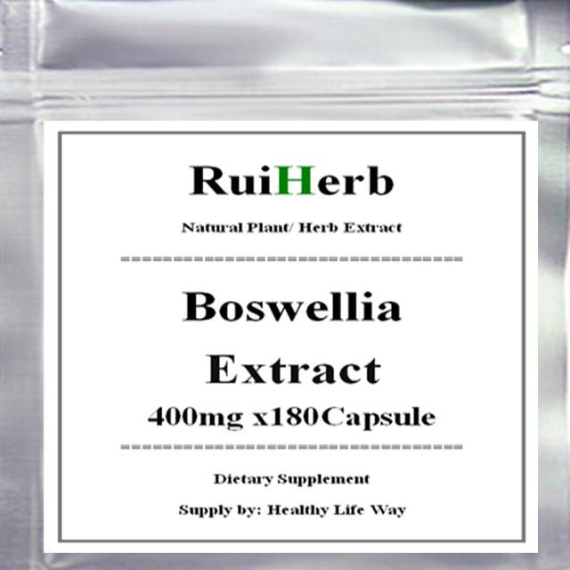 1 Paquete de Boswellia Extracto de la Cápsula de 400 mg x 180 unids envío gratis