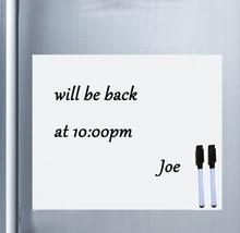 Akıllı Tahta Vinil Buzdolabı Mıknatısı Beyaz Tahta Manyetik Mıknatıslar Ofis Memo Pad Ev Planlayıcısı yazı tahtası Organizatör Not Defteri Işaretleyici