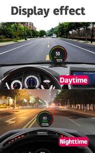 Image 3 - P15 HUD car Head Up Display 2.8 inch OBD Ⅱ Smart Digital Meter Car HUD Display Security Alarm Overspeed Warning System