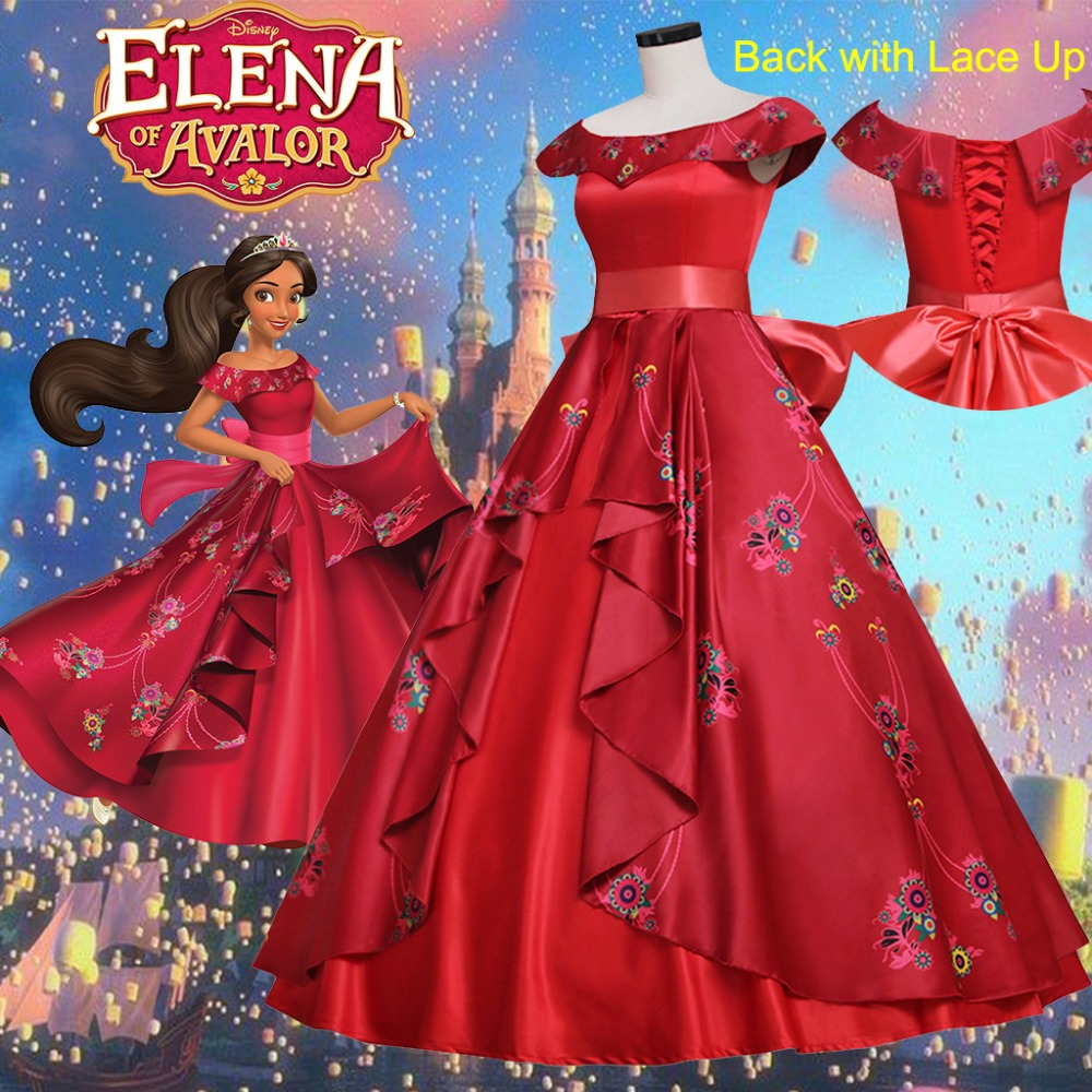 Custom Made Elena Princess Fancy Dress Elena Of Avalor
