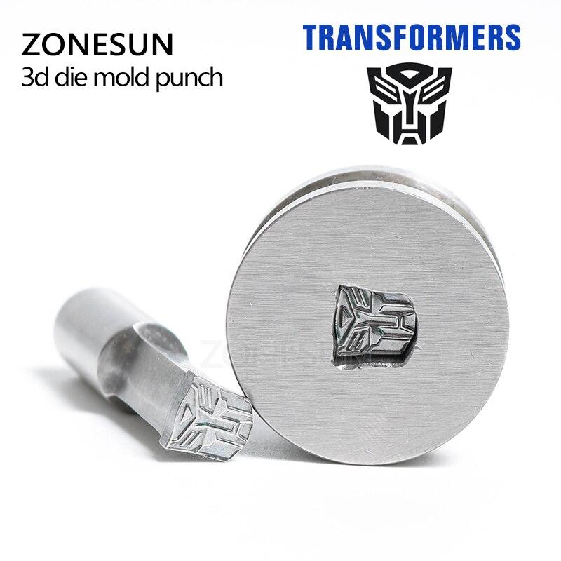 ZONESUN GG249/GOLD 199.9mg/Transformer Stamp press Die Mold/ Press Mold/3D Punch Die Mould/press die TDP-0/1.5T/5T a215 baterpak stamp circlar round die mold press mold punch die mould press die dia 6mm round tdp 0 1 5t 5t