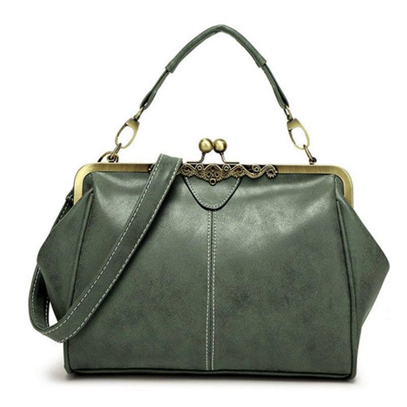 Bolish retro PU donne borsa in pelle piccola borsa a tracolla di alta qualità tote bag piccola borsa messenger di frizione