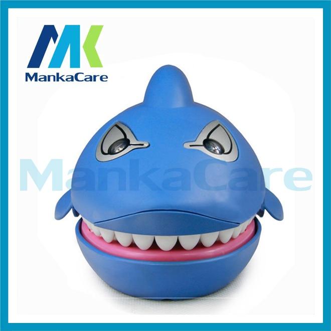 Creative Dental Gift Shark Funny Sound Snapping Family Challenge Game Kids Push font b Teeth b