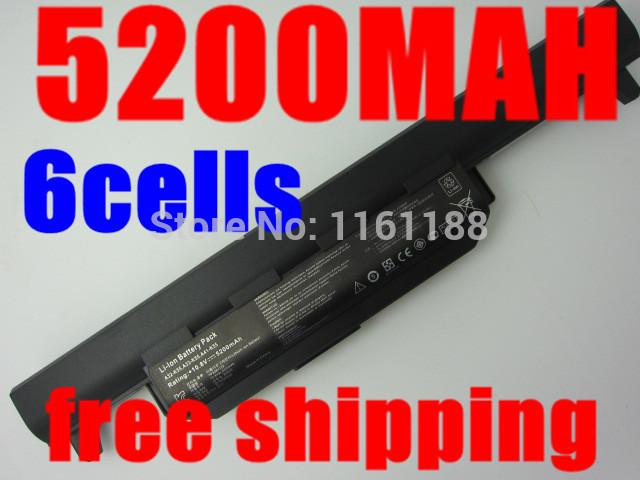 5200 mah batería del ordenador portátil para asus a32 k55 a33-k55 a41-k55 a45 a55 A75 K45 K55 K75 R400 R500 R700 U57 X45 X55 X75 serie