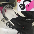 new stroller cup holder can fit yoya baby throne. kissbaby,  more safe to fix the cup.