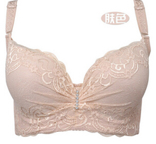 3/4 cup lace push up bra