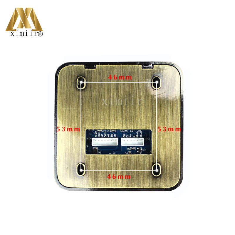 3000 benutzer IC MF Karte Tür Access Controller Standalone Single tür 13,56 MHZ Ic karte Access Control Reader + 10 stücke RFID karte - 4