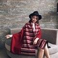 2016 Women Winter Scarf Warm luxury Long Wool Scarf Women Pashmina Foulard Print Plaid Cashmere blanket scarf Shawls Wrap