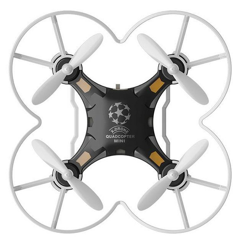 Mini Pocket Drone 4CH 6 Axis Gyro RC Micro Quadcopter with 3D Flip, Headless Mode, One Key Return Nano Copters RTF Mode 2 blac juncheng 3015 2 mini drone 3d flip fly 6 axis gyro 2 4g 4ch rc quadcopter