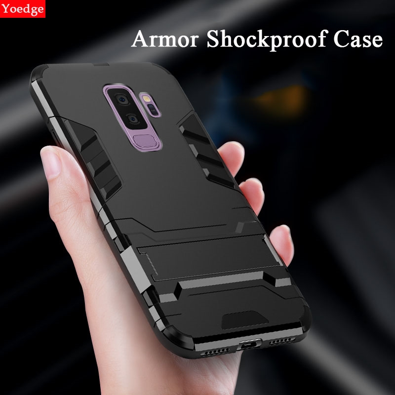 Shockproof Iron Man Case For Samsung Galaxy J4 J6 Plus J5 J7 A3 A5 A9 A7 2018 2016 A8 Star S7 S8 S9 Plus Note 7 8 9 Armor Cover image