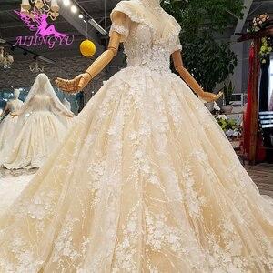 Image 3 - AIJINGYU turquie robes de mariée Robe indienne pure Robe mère de la mariée en fête deux en un Robe Petite robes de mariée