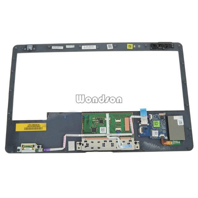 Trasporto Libero Per Dell Latitude E6230 Palmrest Touchpad Assemblea con Lettore di Impronte Digitali-CWD7D 0CWD7D w/1 Anno di Garanzia