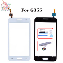 For Samsung Galaxy Core 2 II SM-G355H G355H G355 G355M LCD Touch Screen Sensor Display Digitizer Glass Replacement чехол для для мобильных телефонов oem 1 bling samsung core 2 g355h for samsung galaxy core 2 g355h