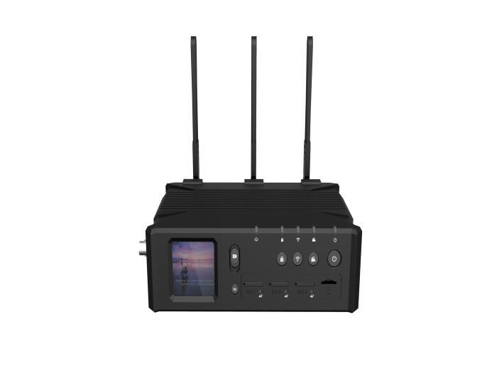 3x4G Streaming Encoder Q8 Bonding Encoder H264/H265+ for