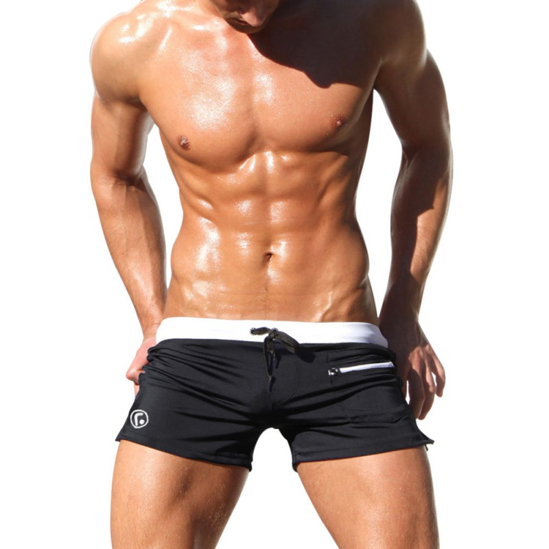 Mens Man Swimwear Swimsuits Boxer Shorts Trunks Men Suits Summer ...