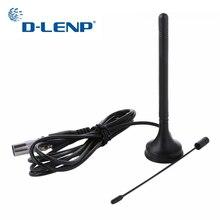 Antenne de télévision DVB T numérique dintérieur Dlenp 3dBi antenne de DVB T2 double bande