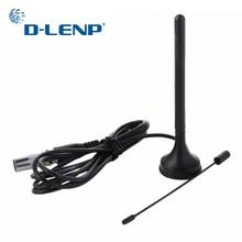 Dlenp 3dBi Coperta Digitale DVB T Antenna TV Freeview HDTV Antenna Booster Dual Band DVB T2 Aerea