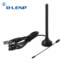 Dlenp 3dBi Indoor Digital DVB T TV Antenna Freeview HDTV Aerial Booster Dual Band DVB T2 Aerial
