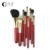 TZ Marca 9 pcs Pincéis de Maquiagem Jogo de Escova Fundação Concealer Eyeshadow Lip Escova Cosmética Make up Brushes Set Com Maquiagem saco