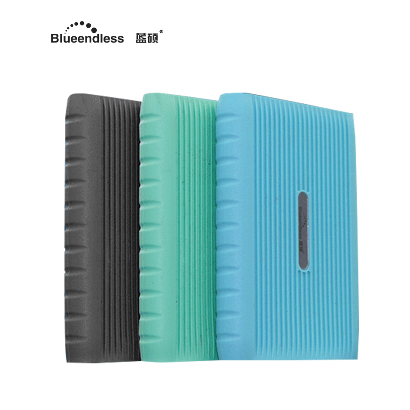 внешний жесткий диск 1Tb 2.5 HDD корпус с Анти-царапин силиконовый чехол внешнего расширенной памяти для планшетов Blueendless