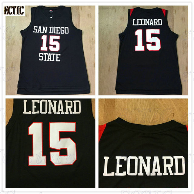 5e9871371 ... denmark 2017 ectic custom adult throwback basketball jerseys 15 kawhi  leonard san diego state embroidered basketball