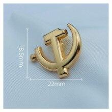 CCCP USSR Soviet Sickle Hammer Pin