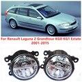 Для Renault Laguna 2 Grandtour KG0 KG1 Недвижимости 2001-2015 10 Вт Противотуманные фары СИД DRL Дневные Ходовые Огни Стайлинга автомобилей лампы