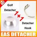 1 Pc Golf Detacheur 12000gs Adicionar 1 Pc Detacheur Gancho Tag Chave Remover O Sistema EAS Sistema de Segurança Detacheur