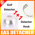 1Pc 12000gs Golf Detacher Add 1Pc Detacher Hook Key Tag Remover The Security Detacher EAS System